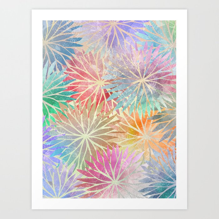 Summer Pattern #3 Art Print