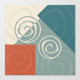 Iterations Canvas Print