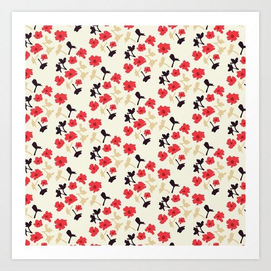 poppies will make them sleep Art Print