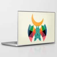 child Laptop & iPad Skins featuring Moon Child by Andy Westface