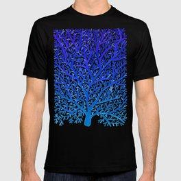 Fan Coral – Blue Ombré T-shirt
