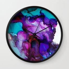 Purpled minded Wall Clock