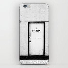 Pier 50A iPhone Skin