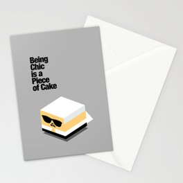 Piece of Cake Karl Stationery Cards