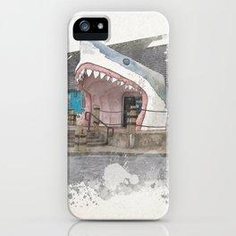 Sharkey's Souvenir Shop, Ocean Shores, Washington iPhone Case