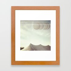 Space Circus Framed Art Print