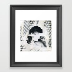 Torn 1 Framed Art Print
