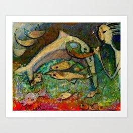 DELFIN Art Print
