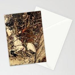 Arthur Rackham - Fouqué - Undine (1909) - False gold! False coin! Stationery Cards