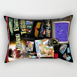 Video Game Trader #21 Cover Design  Rectangular Pillow