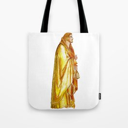 Life of Christ 'Judas Betrayal' figure interpretation Tote Bag