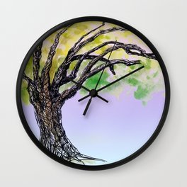 sketch_tree, Auckland Wall Clock