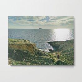 Filfla, Malta Metal Print