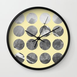 Quarter Quills 1 Wall Clock