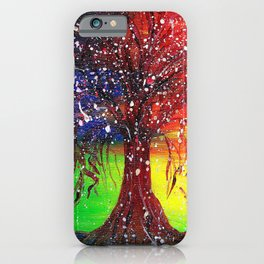 Magic Dew Drop Tree iPhone Case