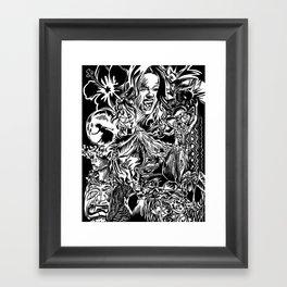 Pele, Volcano Goddess Framed Art Print
