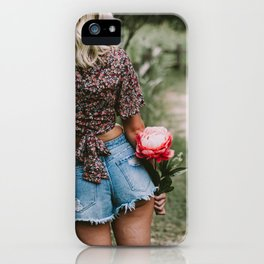 looking forward iPhone Case