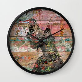 Inner Nature (Profile of Woman) Wall Clock