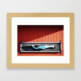 I Spy Framed Art Print