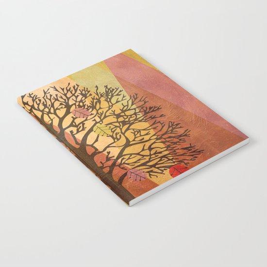 Autumn Tree Notebook
