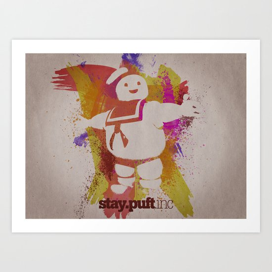 stay.puft.inc Art Print