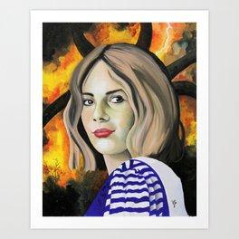 Maya Hawke Art Print