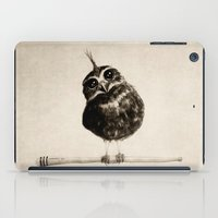 owl iPad Cases featuring Punk by Isaiah K. Stephens