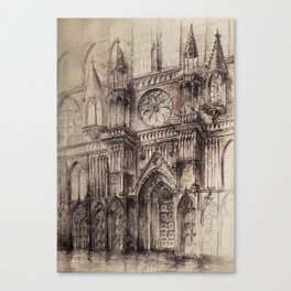 Gothic Cathedral 2 Canvas Print
