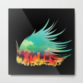 In Flying Colours Metal Print