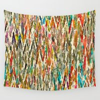 hippy Wall Tapestries featuring Hippy Style by thinschi