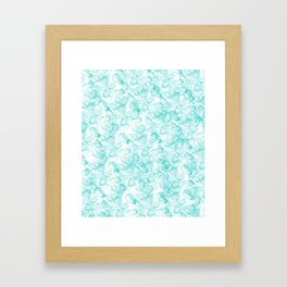 Abstract X Framed Art Print