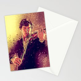 The Violin Stationery Cards