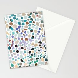 Terrazzo Colorful Stationery Cards
