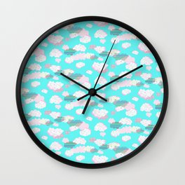 Cloudy Daze Wall Clock
