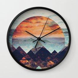 Fractions B02 Wall Clock