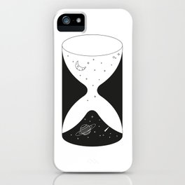 Spacial Hourglass iPhone Case