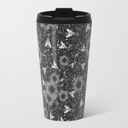 Flys and Flowers Travel Mug