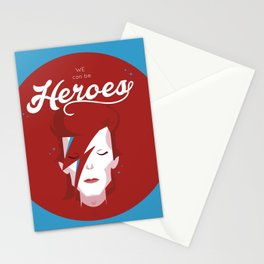 bowie forever blue Stationery Cards