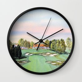 Bethpage State Park Golf Course Wall Clock