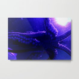 The Octo Metal Print