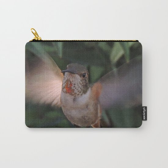 Can't a Gal Have a Drink in Peace? Carry-All Pouch