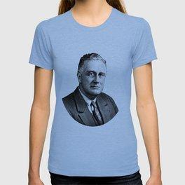 President Franklin Roosevelt Graphic T-shirt
