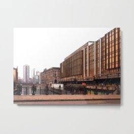 Architectural Shapes #4 Metal Print