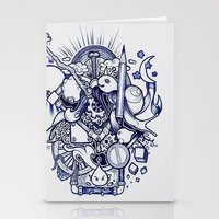 doodle Stationery Cards featuring Doodle by Puddingshades