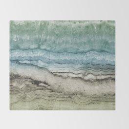 Mystic Stone Emerge Throw Blanket