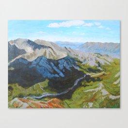 Cloud Cover Denali National Park Canvas Print