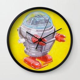 Wind Up Robot Wall Clock
