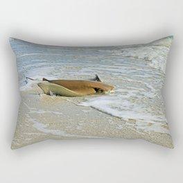 Stingray on Boca Grande I Rectangular Pillow