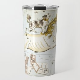 Sidney Hall - Urania's Mirror (1824) - Monoceros, Canis Minor, and Atelier Typographique Travel Mug