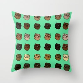 Unity! Together We Rise! Throw Pillow